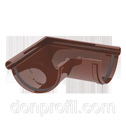Угол желоба 120 мм наружный 90 градусов коричневый