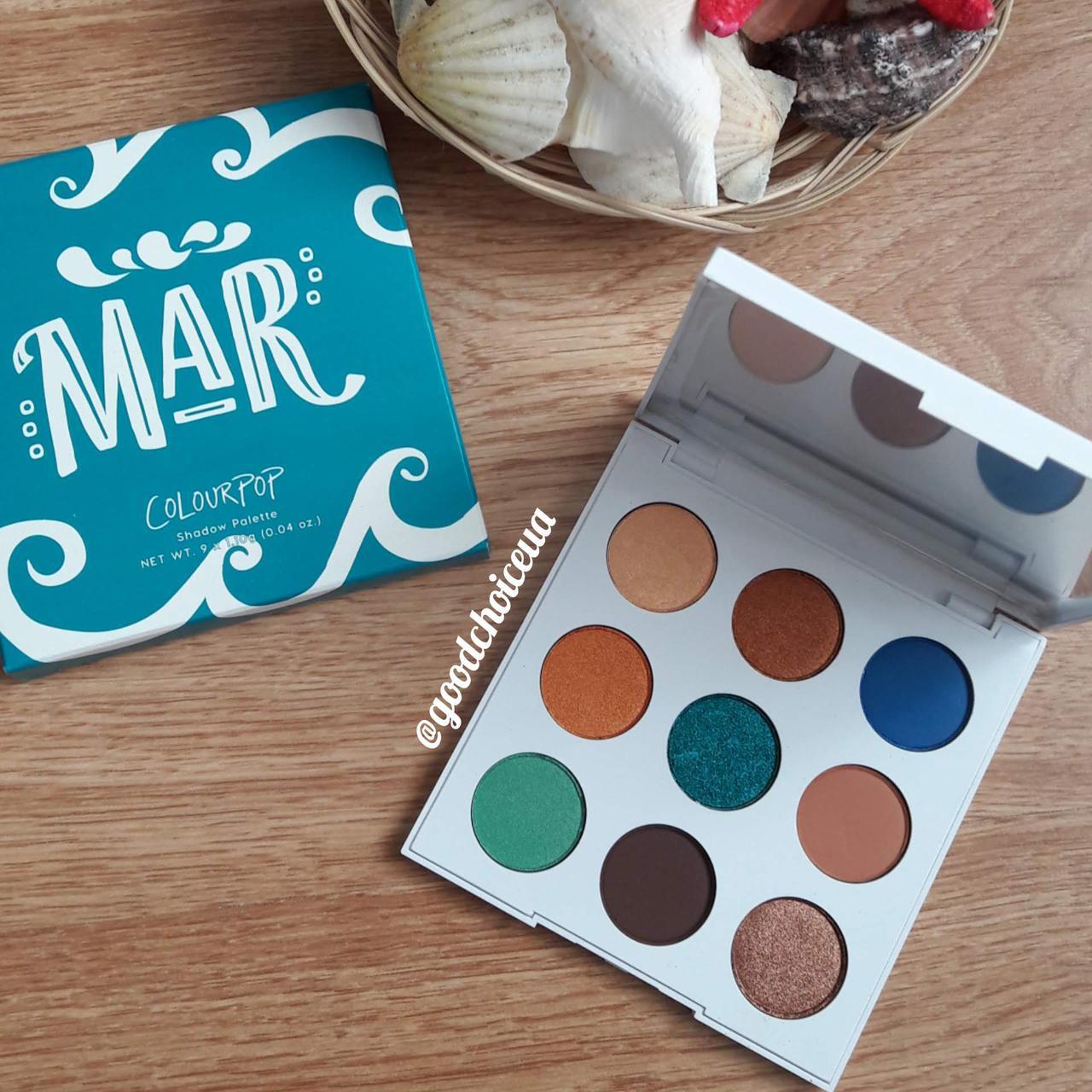 Палетка теней ColourPop - Mar - Pressed Powder Shadow Palette