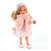 Кукла Emily 42 см в теплом шарфике и шапочке Antonio Juan 2589