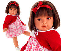 Кукла Lula 55 см мягконабивная озвученная бюнетка Antonio Juan 1827
