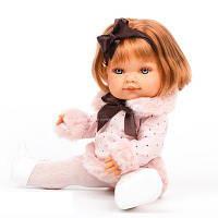 Кукла девочка Farita 38 см рыженькая с каре Antonio Juan 2268