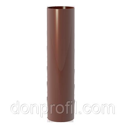 Труба водостічна 85 мм, L=3000мм коричнева