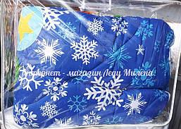 Зимнее одеяло овчина евро размер от украинского производителя, фото 2