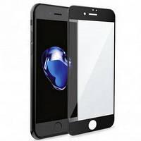 Защитное стекло 10D для iPhone 8 black