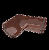 Кут жолоба 120 мм внутрішній 90 градусів коричневий