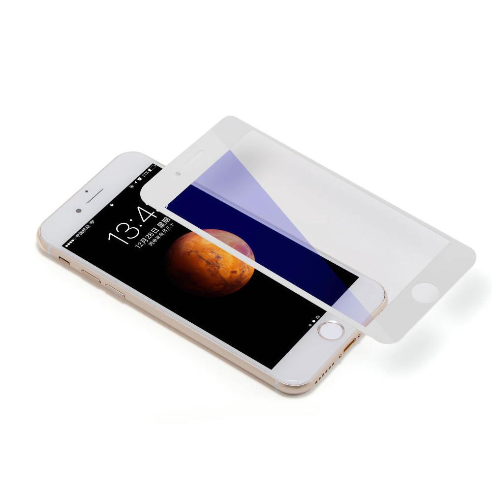Защитное стекло 10D для iPhone 8 Plus white