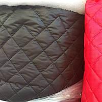Стеганная ткань плащевка на синтепоне для пошива верхней одежды ширина 150 см сублимация стеганная-018
