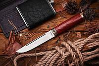 Нож нескладной Варан, комплектуется поясными ножнами из натуральной кожи, отличный подарок мужчине