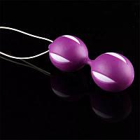 Вагинальные шарики для укрепления мышц влагалища .Фиолетовые.Шары Кегеля.6