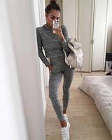 Теплый спортивный костюм кофта с капюшоном + штаны Ангора софт