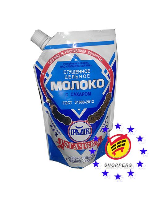 """Сгущенное молоко с сахаром """"РОГАЧЕВ"""" Дой-Пак, 300 г"""