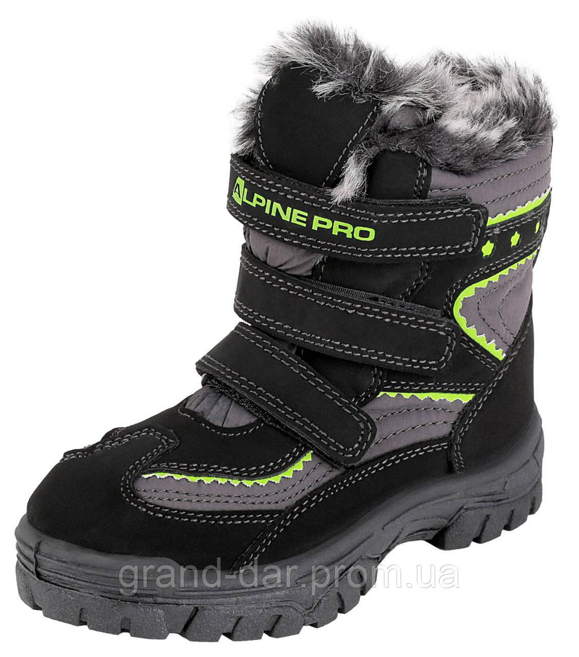Зимние детские ботинки Alpine Pro TIMBER - Интернет-магазин