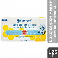 Мыло детское Johnson's Baby Pure Protect с экстр. меда, 125 г
