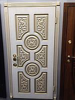 """Двери """"Портала"""" - серия ЭЛИТ - модель ВЕНЕЦИЯ - 3D рисунок + патина с двух сторон !!!"""