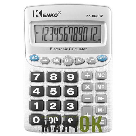 Калькулятор Kenko KK-1038-12, фото 2