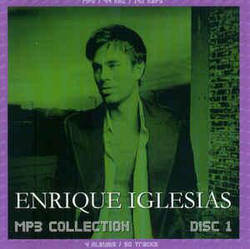 MP3 диск Enrique Iglesias - MP3 Collection Disc 1