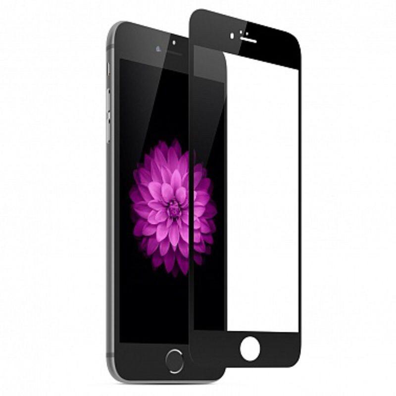 Защитное стекло 3D Carbon  для iPhone 7 Black