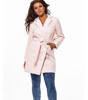 Кашемировое пальто большого размера с поясом 823522, фото 1