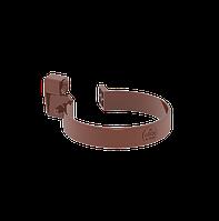 Хомут труби 85 мм коричневий