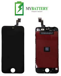 Дисплей (LCD) Apple  iPhone 5S/ SE с сенсором черный