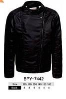 Куртки кожзам на меху для мальчиков оптом, размеры 110-160 Glo-story, арт. ВPY-7442, фото 1