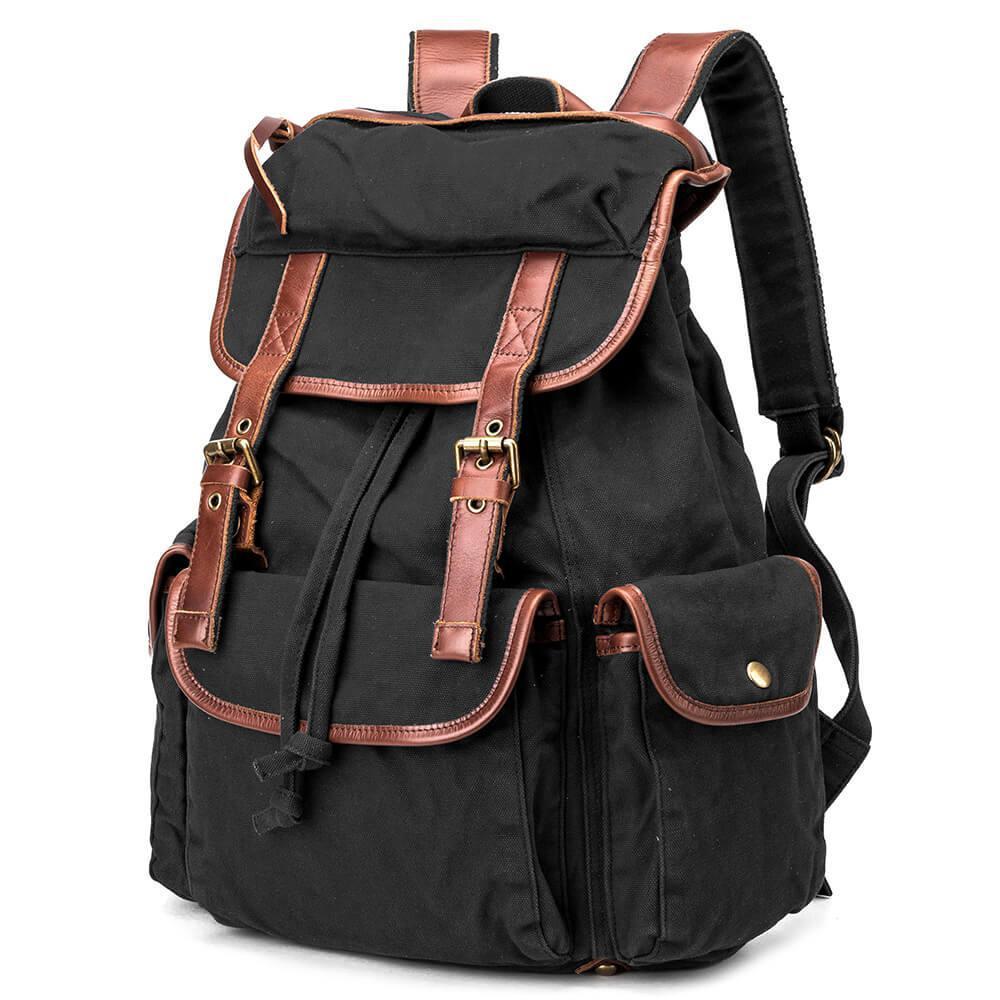 Чорний рюкзак міський BUG ID005-BK