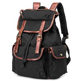 Черный рюкзак городской BUG ID005-BK