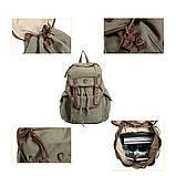 Чорний рюкзак міський BUG ID005-BK, фото 4