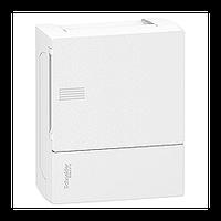 Щит Schneider-Electric Mini Pragma 6 модулей навесной белая дверь IP40 MIP12106