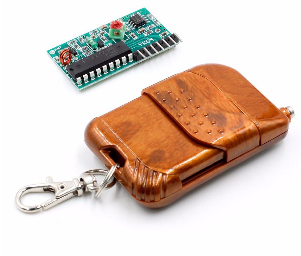 Бездротовий 4-канальний пульт + приймач 315 МГц 2262/2272
