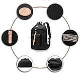 Чорний рюкзак міський BUG P16S26-11-BK, фото 8