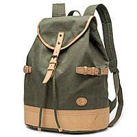Зеленый большой рюкзак городской BUG P16S22-7GN