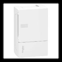 Щит Schneider-Electric Mini Pragma 4 модуля навесной белая дверь IP40 MIP12104