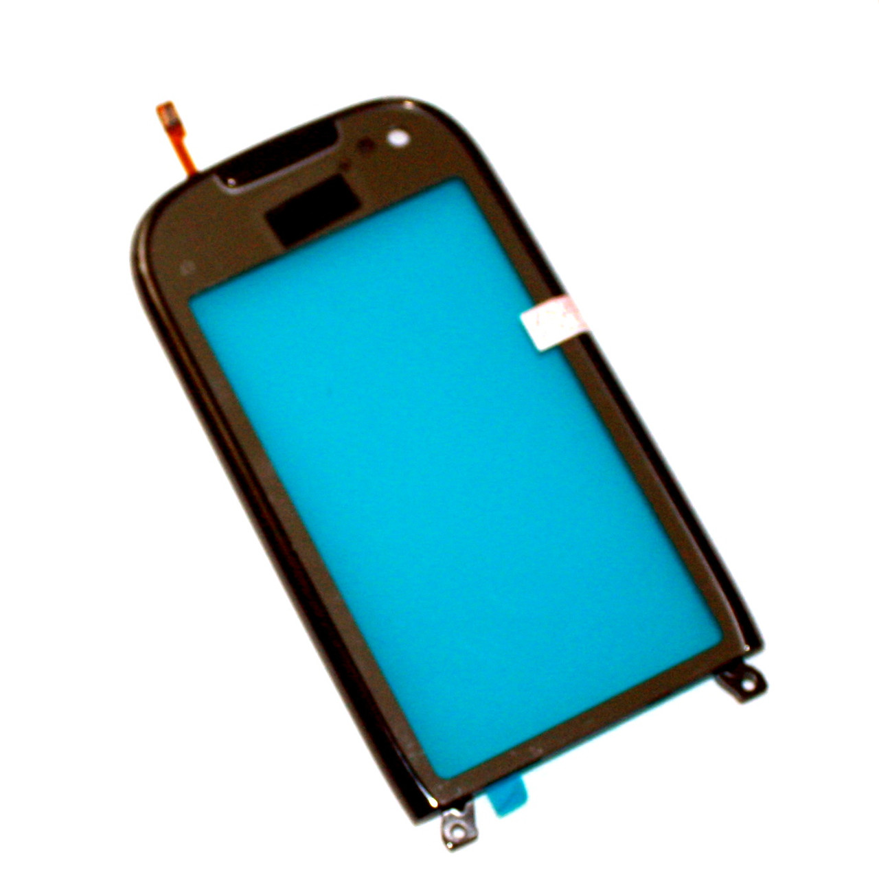 Сенсорный экран (тачскрин) Nokia C7-00 с рамкой, чёрный ориг. к-во