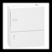 Щит Schneider-Electric Mini Pragma 8 модулей навесной белая дверь IP40 MIP12108