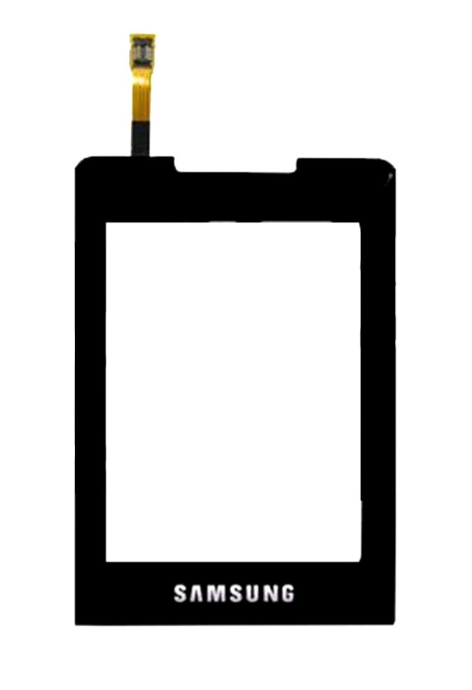 Сенсорный экран (тачскрин) Samsung C3330 champ чёрный