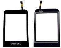 Сенсорный экран (тачскрин) Samsung C3310 чёрный