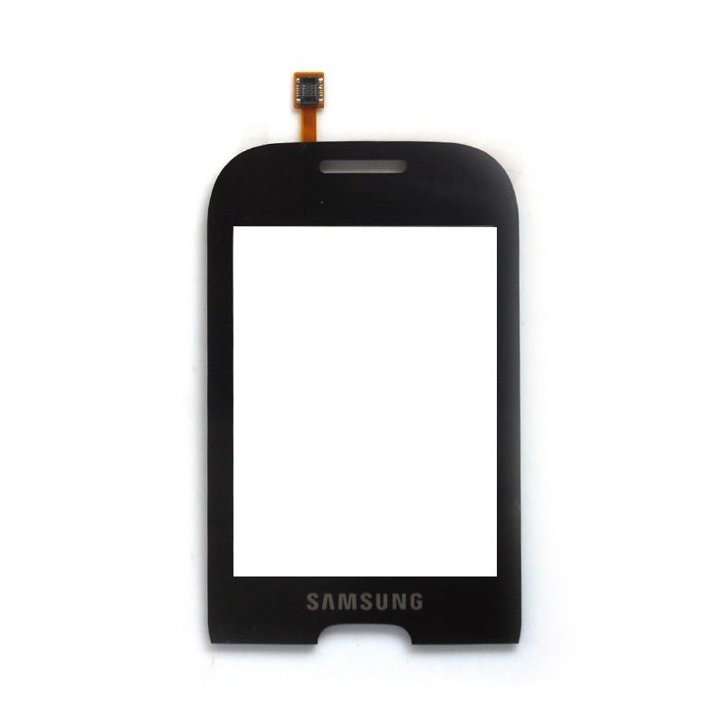 Сенсорный экран (тачскрин) Samsung S3770 чёрный
