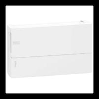 Щит Schneider-Electric Mini Pragma 18 модулей навесной белая дверь IP40 MIP12118