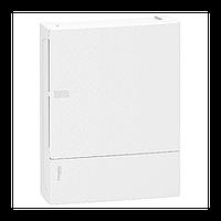 Щит Schneider-Electric Mini Pragma 24 модуля навесной белая дверь IP40 MIP12212