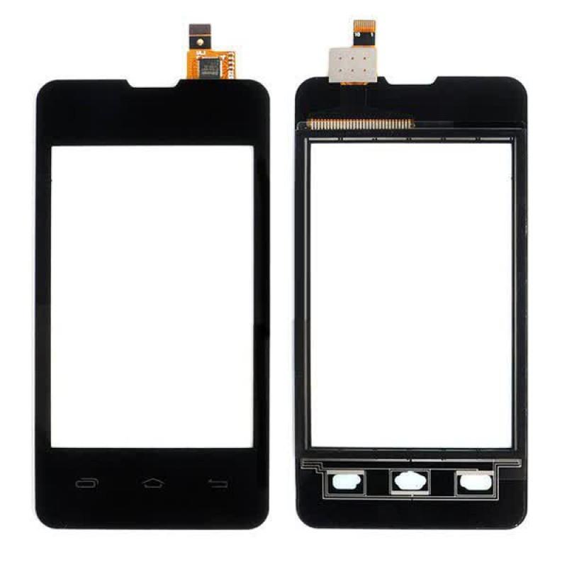 Сенсорный экран (тачскрин) Prestigio 3350 DUO | Explay A351 чёрный ориг. к-во