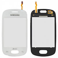 Сенсорный экран (тачскрин) Samsung S5282 Galaxy Star Duos | S5310 белый оригинал