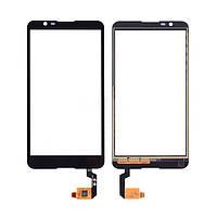 Сенсорный экран (тачскрин) Sony E2104 Xperia E4   E2105   E2115   E2124 чёрный ориг. к-во