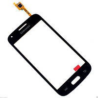 Сенсорный экран (тачскрин) Samsung G350H Galaxy Star Advance (с отверстием камеры) серый оригинал
