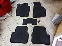 Коврики в салон 4D резиновые Volkswagen Passat CC 2008-2015 VW CC !Качество!