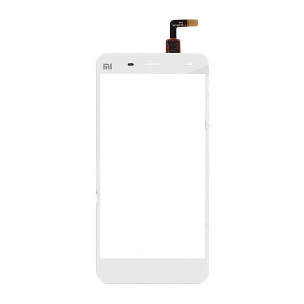 Сенсорный экран (тачскрин) Xiaomi Mi4 | Mi4X, белый ориг. к-во