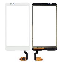 Сенсорный экран (тачскрин) Sony E2104 Xperia E4   E2105   E2115   E2124 white ориг. к-во