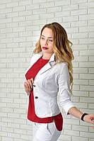 Жакет Эрика (01) белого цвета, фото 1