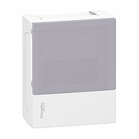 Щит Schneider-Electric Mini Pragma 6 модулей навесной дымчатая дверь IP40 MIP12106T