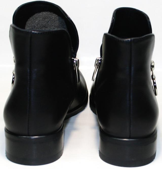 Черные полуботинки Jina collection 6621 при верном подборе гармонично дополнят нужный яркий образ для соответствующей обстановки.